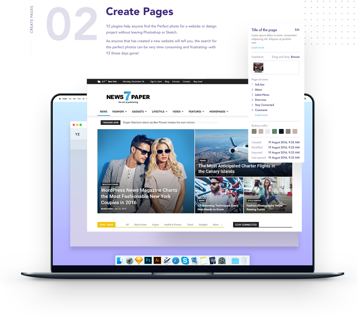 artificial intelligence Photo Search plugin Extension dashboard Automate design