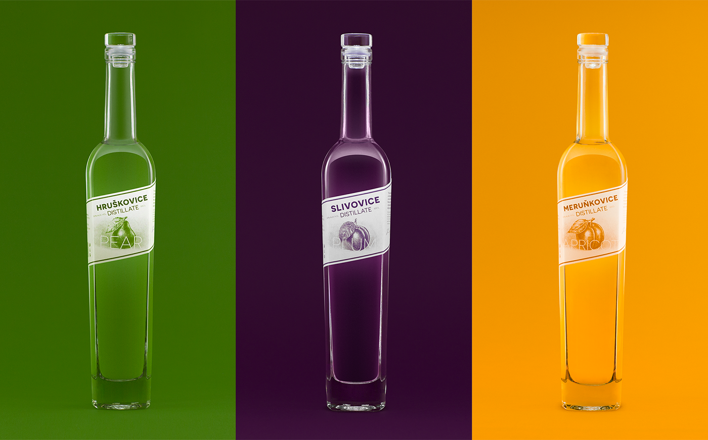graphic design  design ILLUSTRATION  label design Packaging alcohol amoth redesign amothstudio