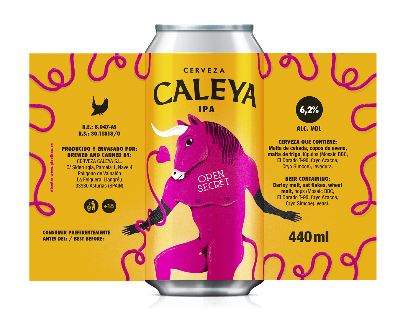 beer beer can Beer Packaging branding  brewery cerveza craft beer identity ILLUSTRATION  Packaging