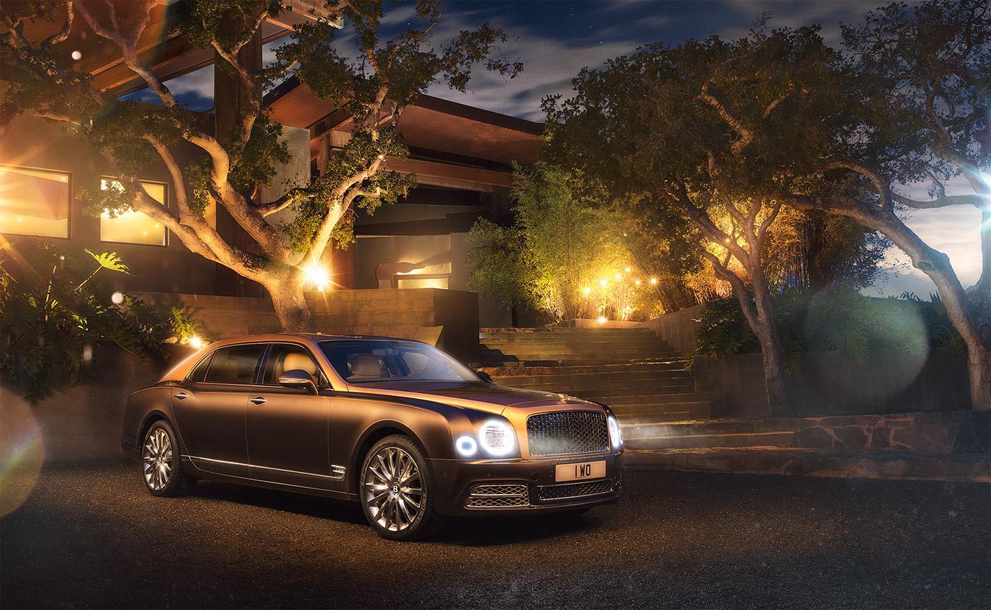 Bentley Motors 2017 Mulsanne Launch On Behance