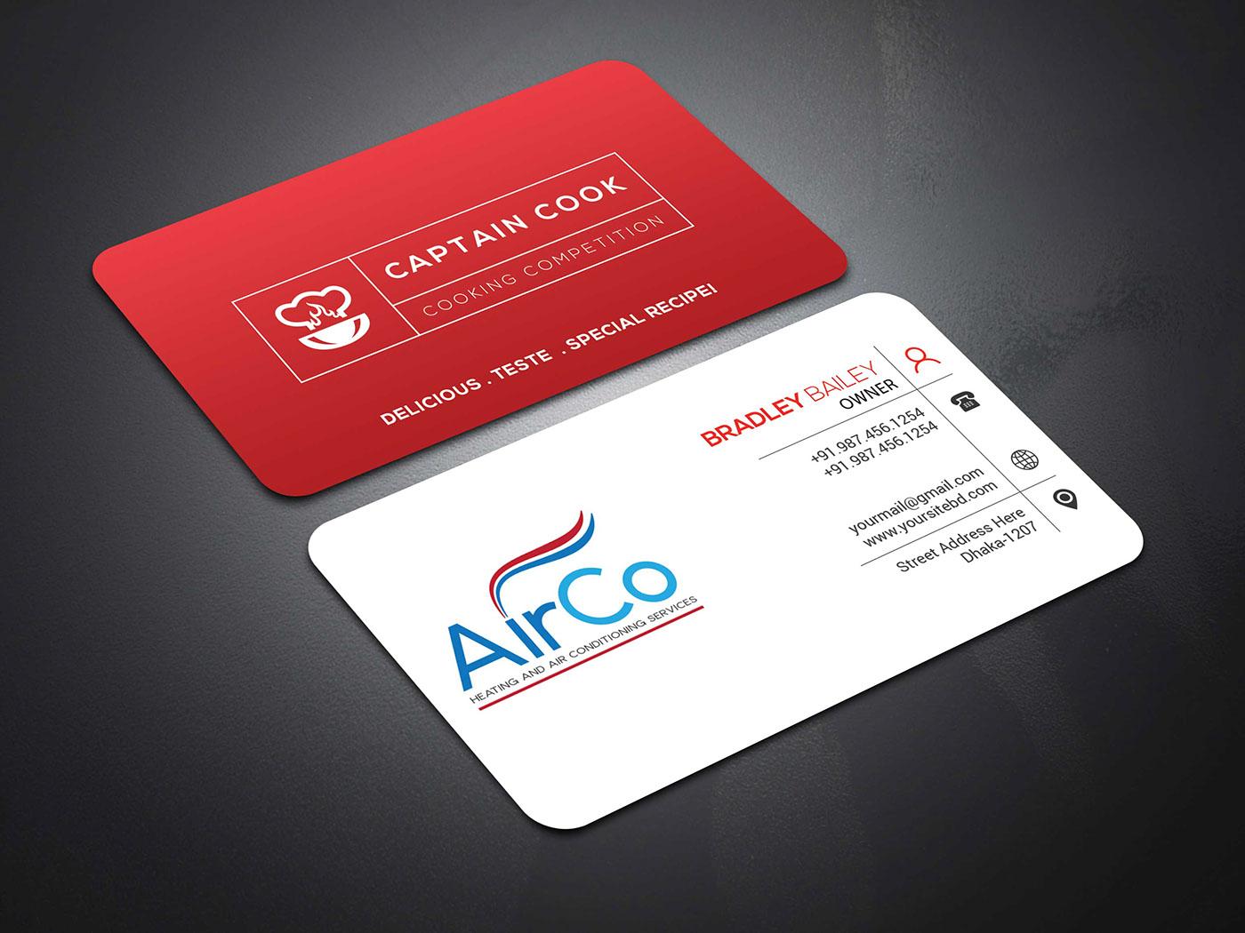 Business card free mockup on behance colourmoves