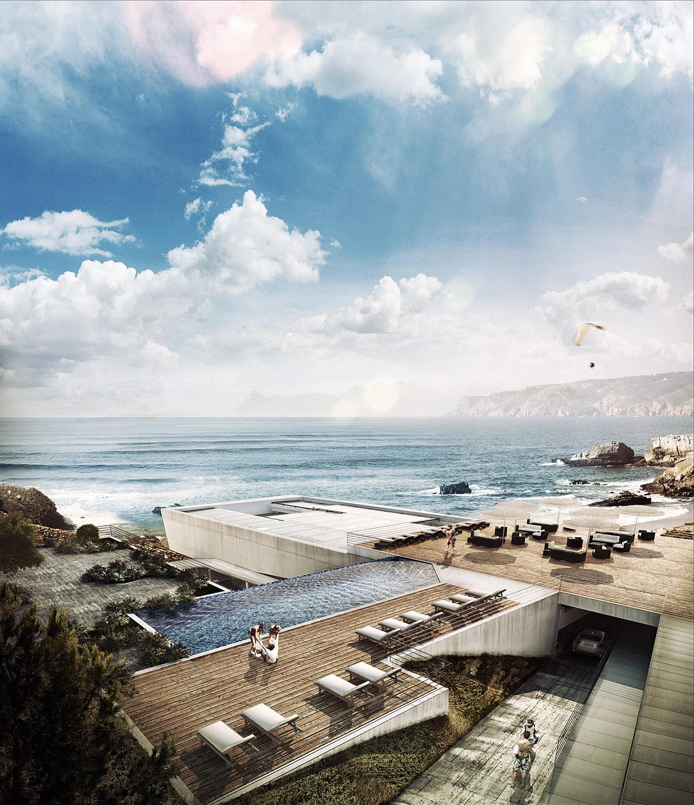 Seaside feeling cascais portugal on behance for Porte 7th sea
