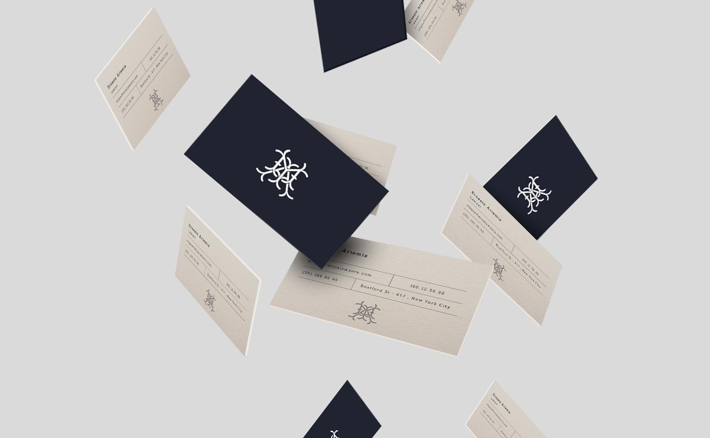 law lawyers brand logos minimal simple monogram creative modern Rebrand clean abogado Corporate Identity Business Cards
