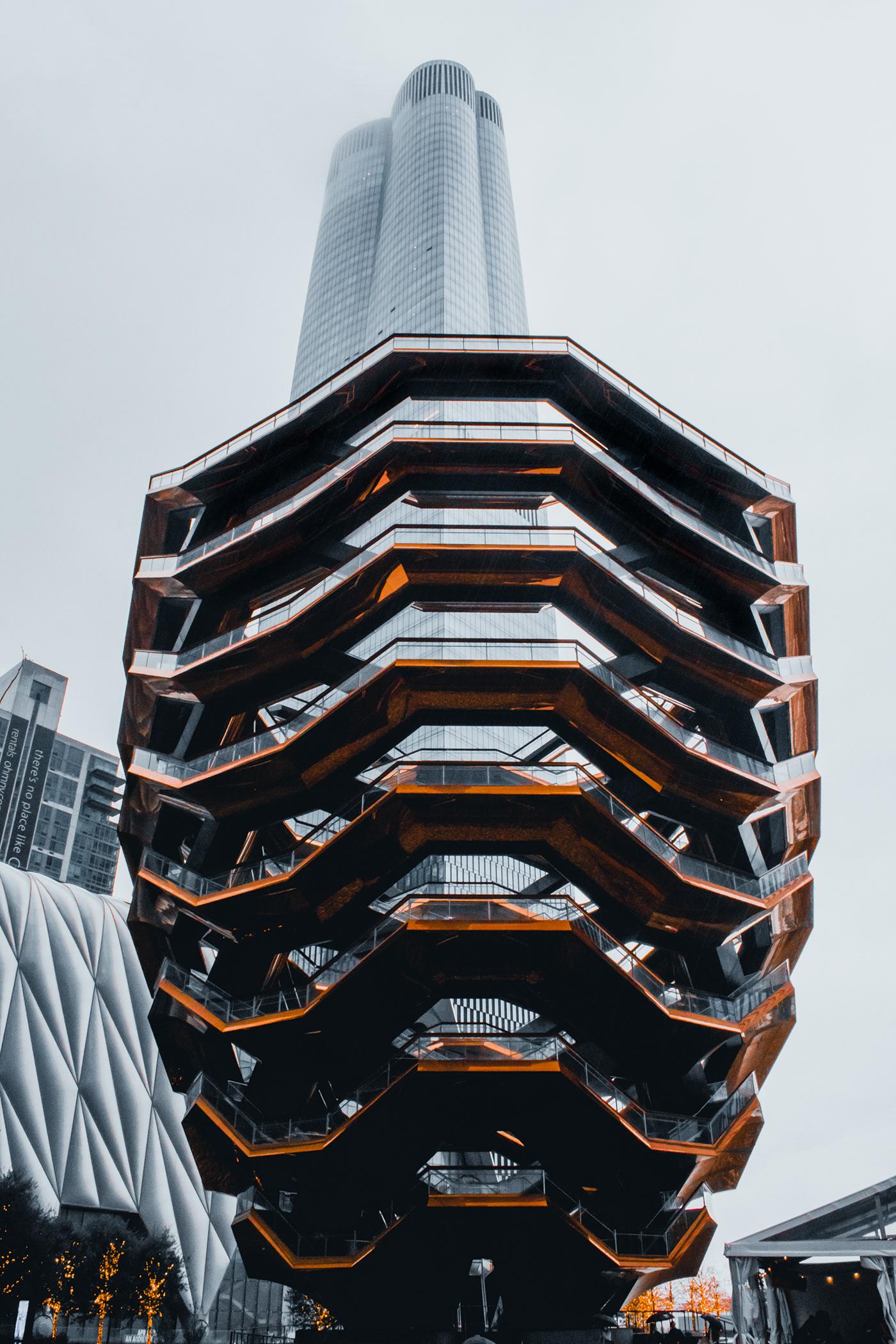 architecture Architecture Photography Hudson Yards Landmark Manhattan New York new york city nyc architecture The Vessel the vessel nyc