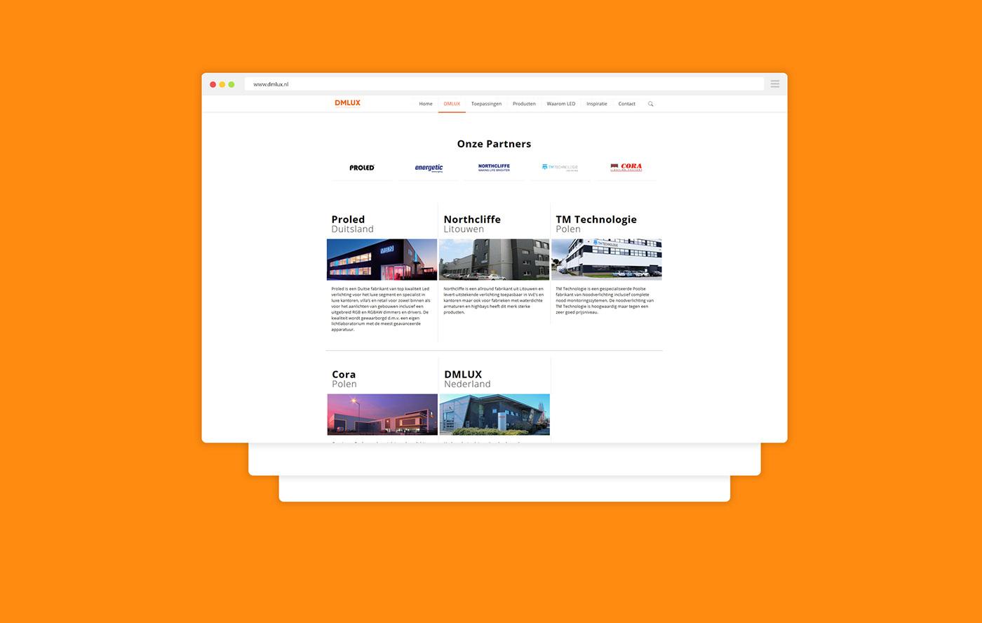 DMLUX Corporate Website