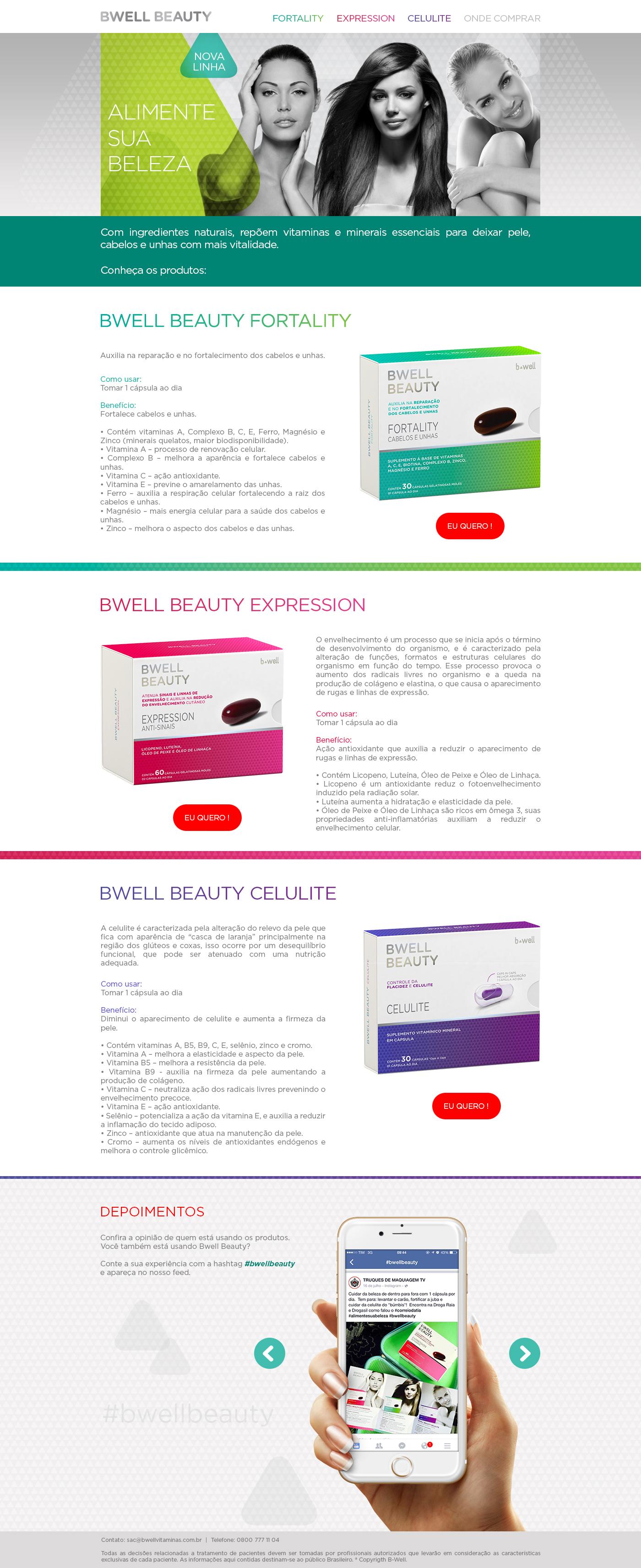 Webdesign Drogasil Direção de arte