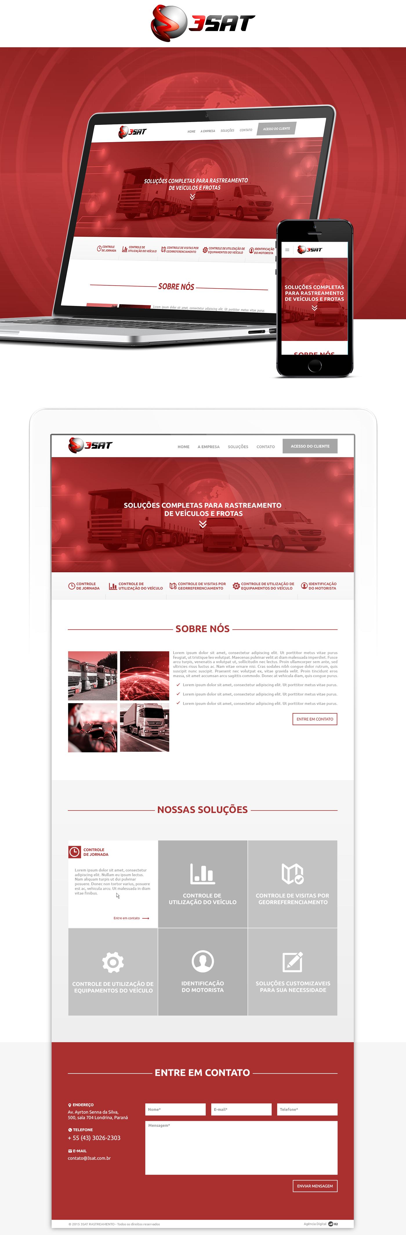 Website webdesigner Webdesign Layout tamplate layoutresponsivo responsivesite tecnologia Technology Responsive responsivo onepage landingpage brand