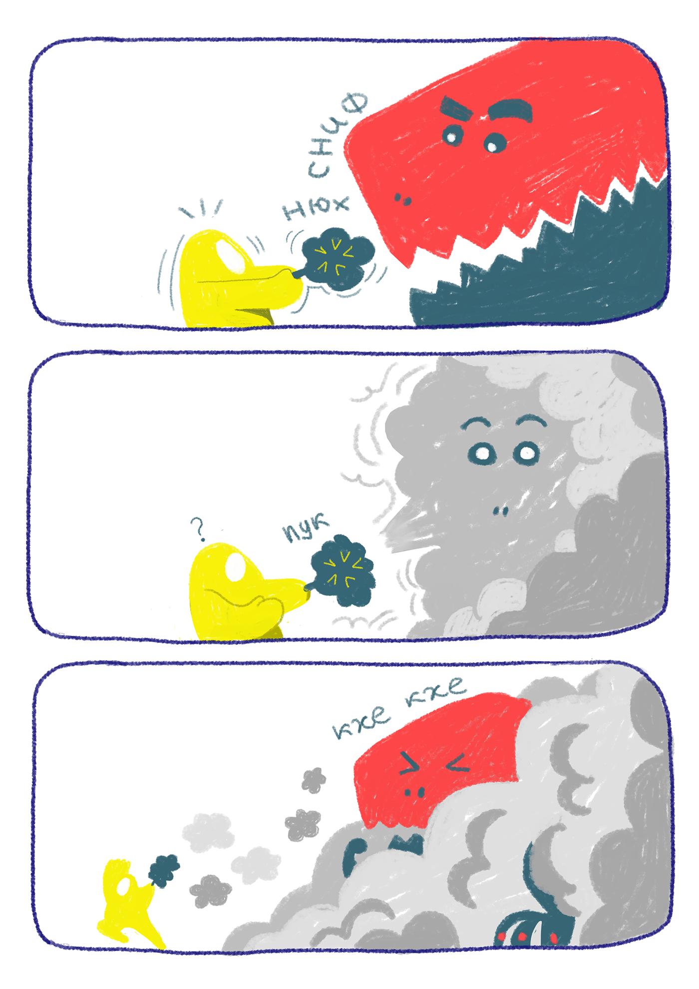 comic comics cosmos Dinosaur ILLUSTRATION  robots