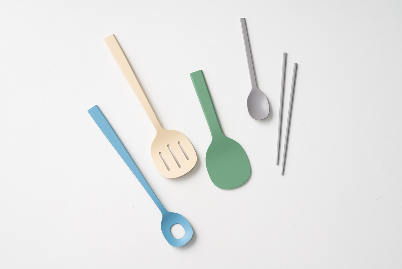 wood wooden spoon natural material tray bkid