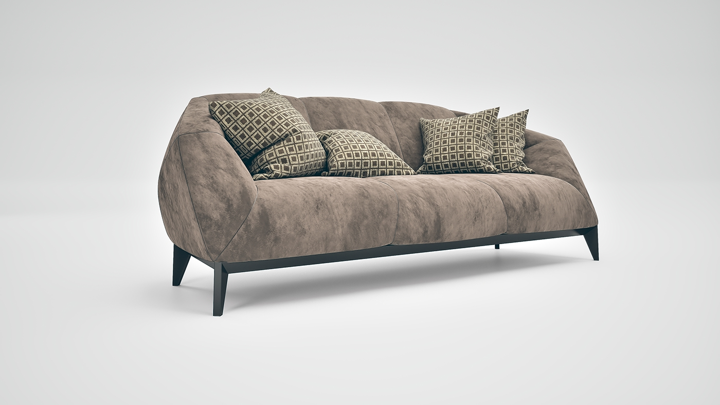 Cool Lotus Sofa On Behance Andrewgaddart Wooden Chair Designs For Living Room Andrewgaddartcom