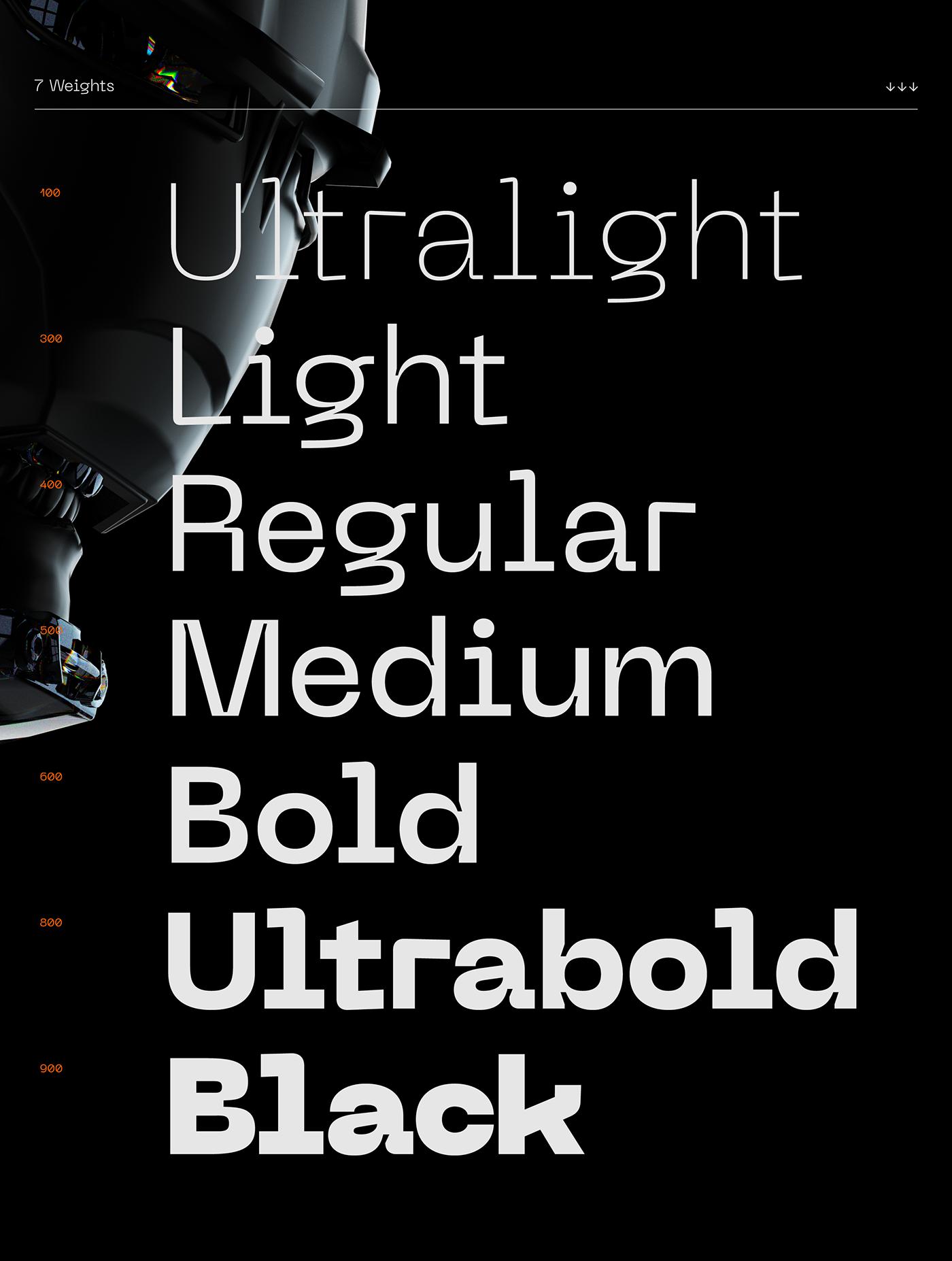 Typeface Free font font gradient Baugasm pangram pangrampangram poster free typeface typography