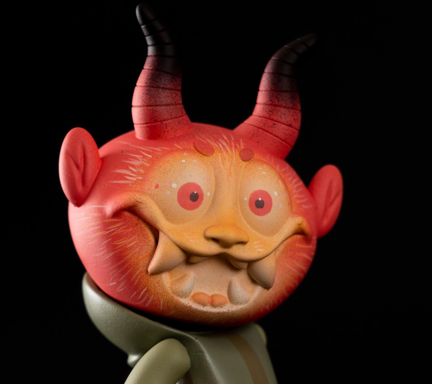 art artoy color customart demon mexicanart popart teq64 toy vinyltoy