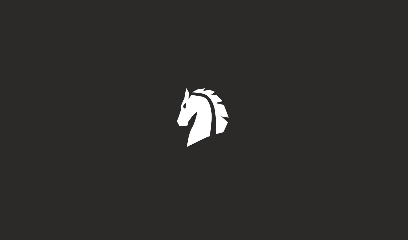 branding  brand logo horse Brand Design