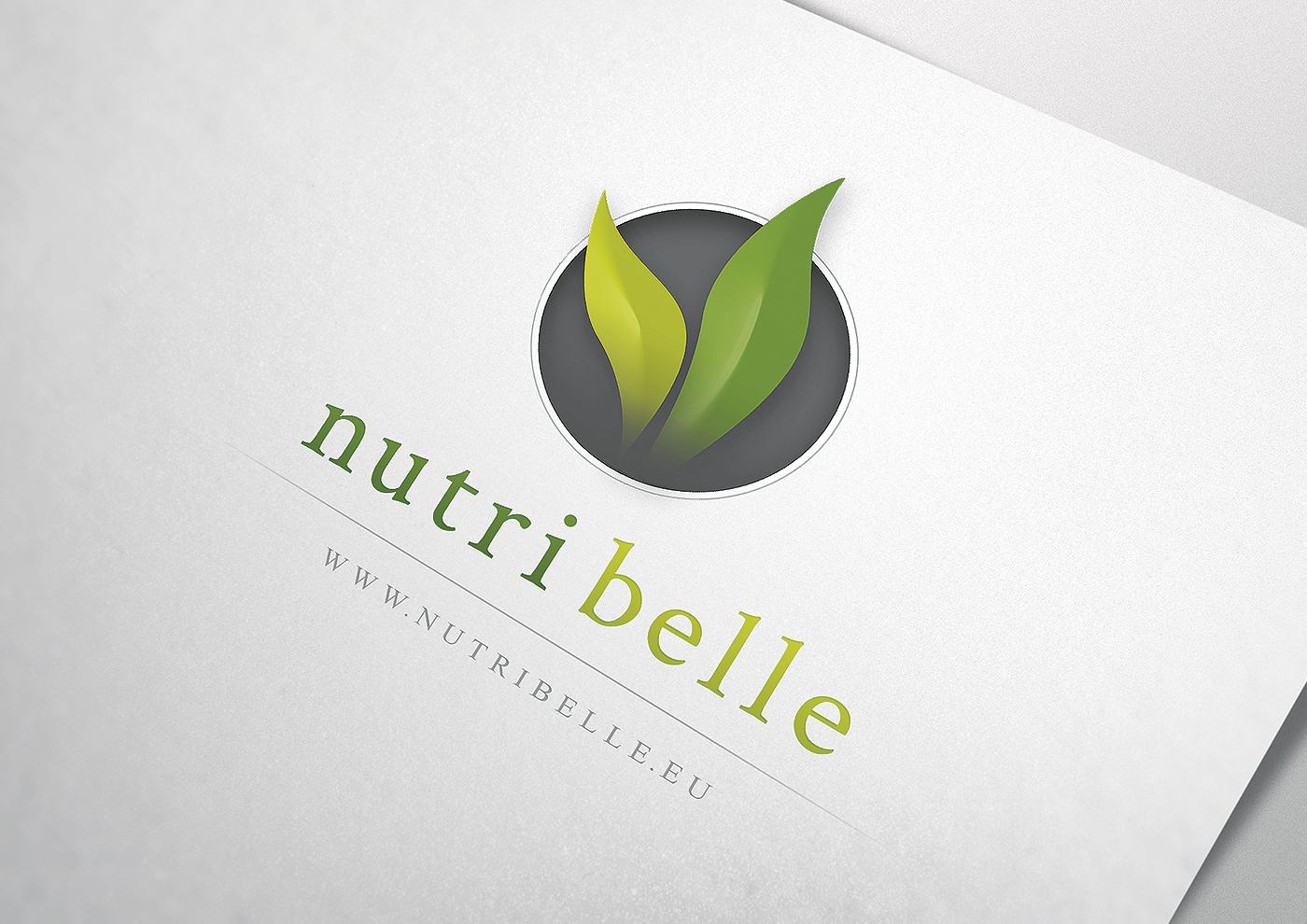 nutribelle logo Icon brand