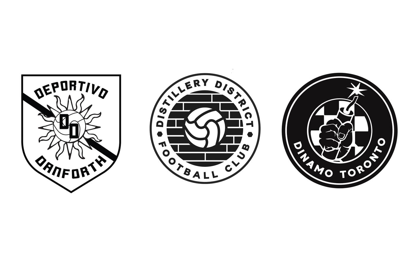 logo logos soccer football Toronto adidas branding  design Canada tshirt