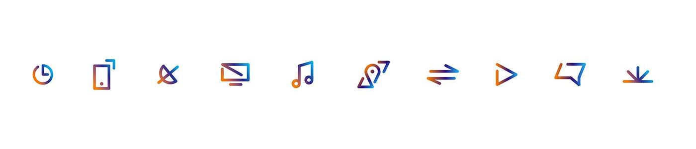 paralela – Telenet brand icons