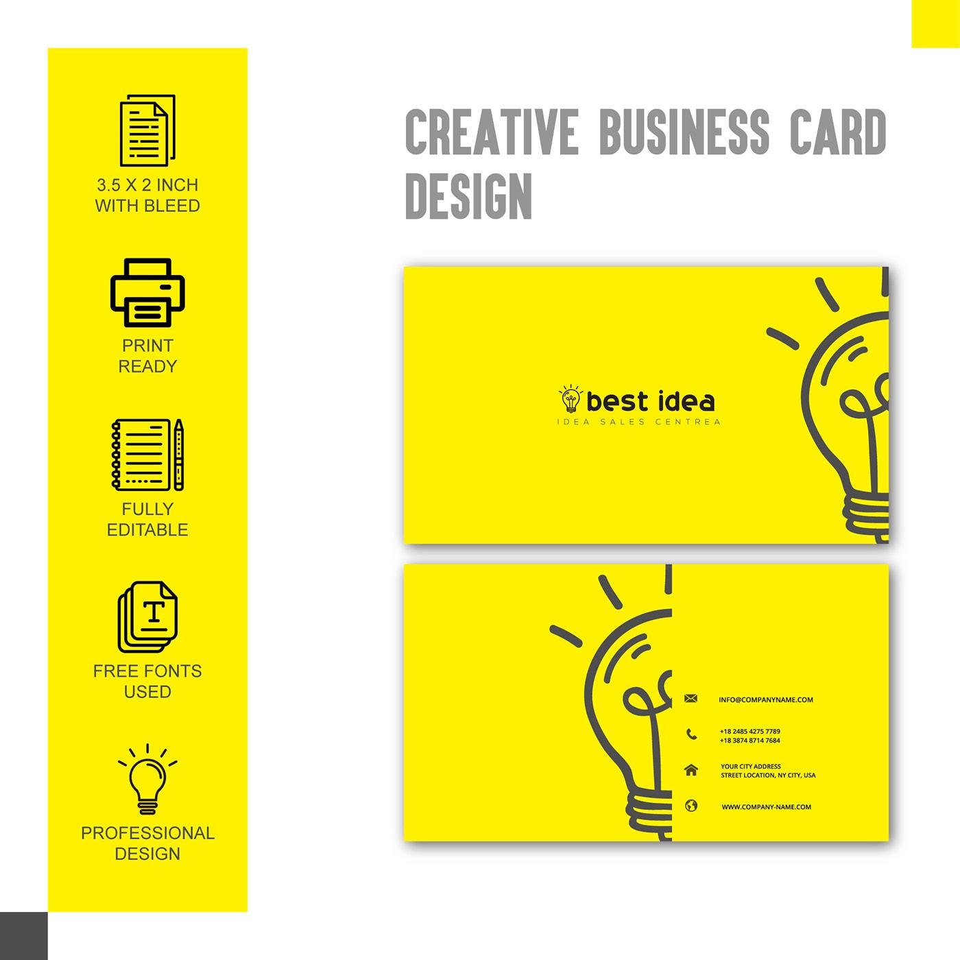 有設計感的27張創意名片設計欣賞