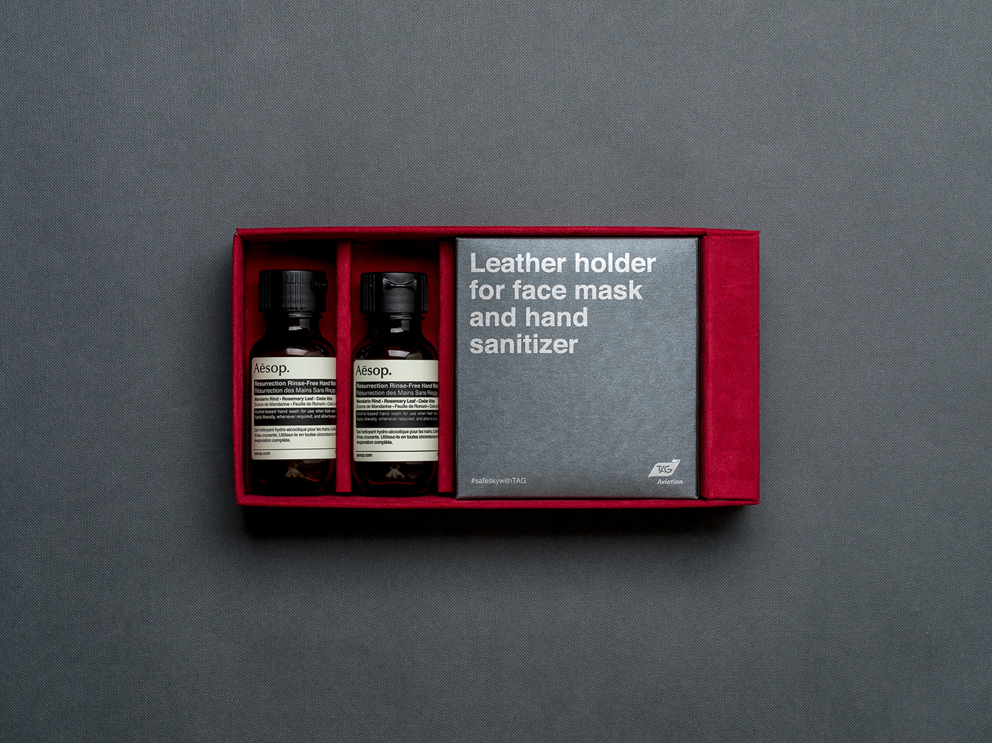 Hygiene kit  Packaging Bradning COVid gift luxery