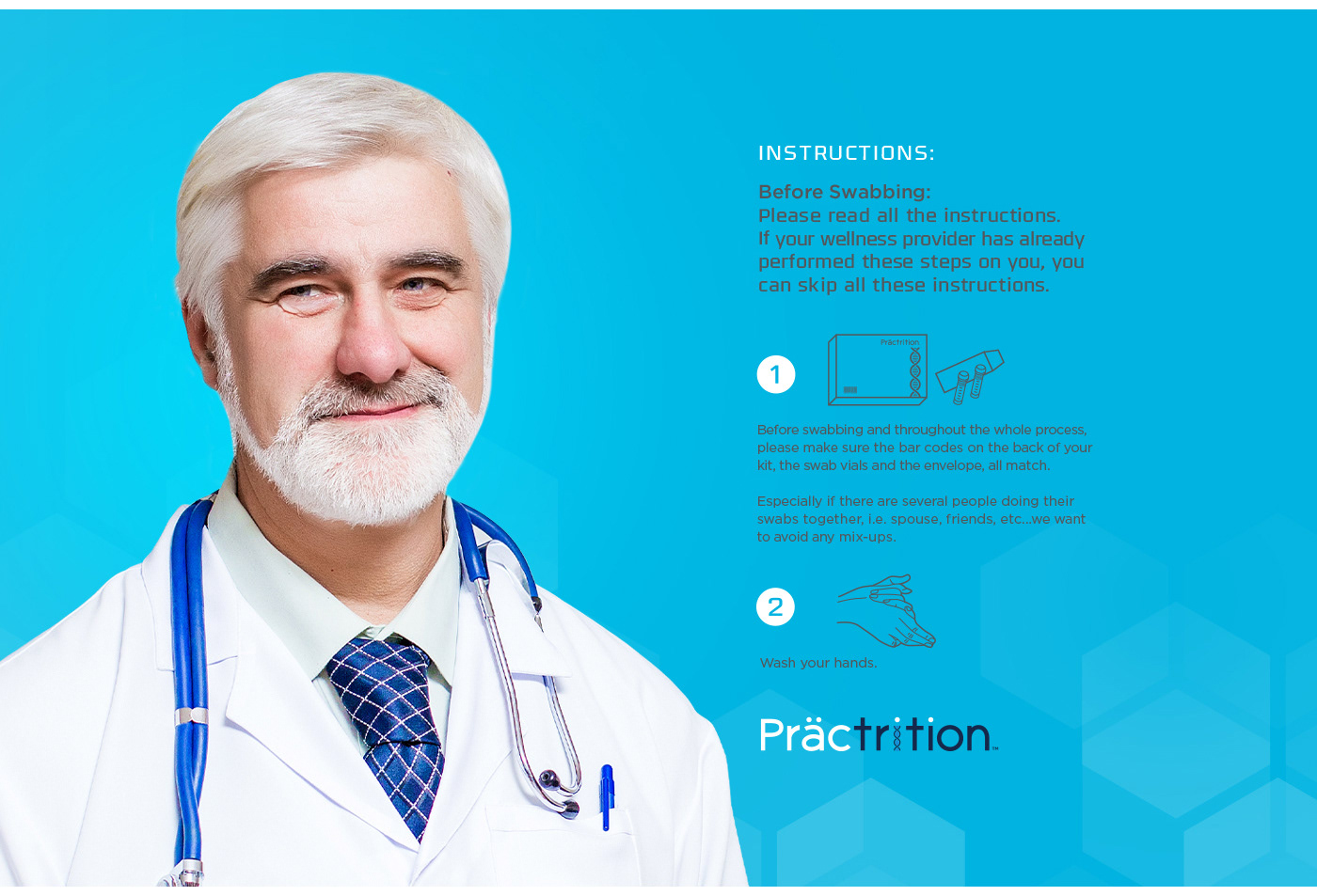 dna testing kit box,Editorial Layouts,icons and DNA Helix,inspire,logo branding,medical health doctors,nutritional supplements,pantone colors,supplemental packaging,Webpage designs