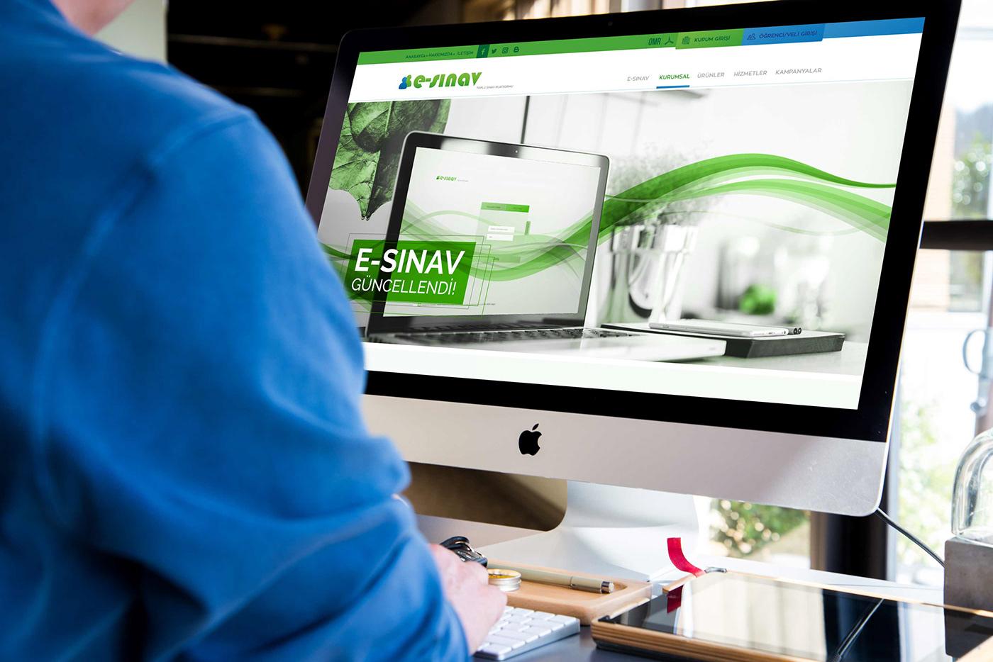 corporate design social media UI ux Website