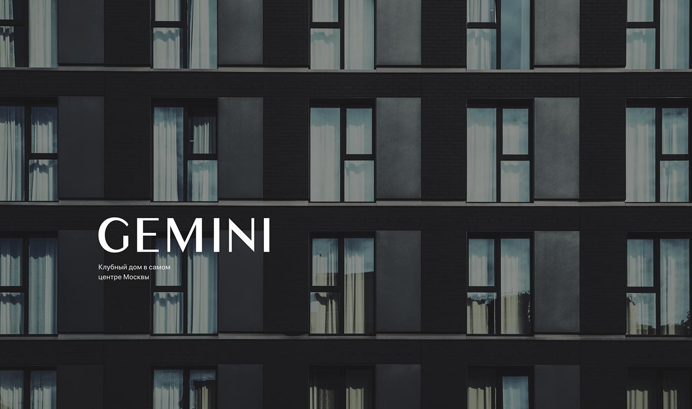 Web xD house Minimalism premium apartments design site