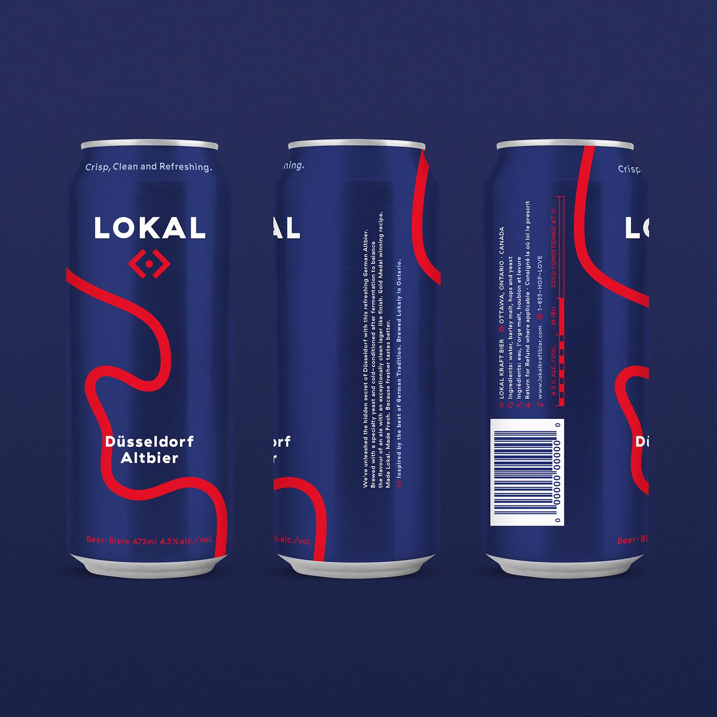 packagingdesign beer branding  brand identity Packaging beercan can logo logodesign identity