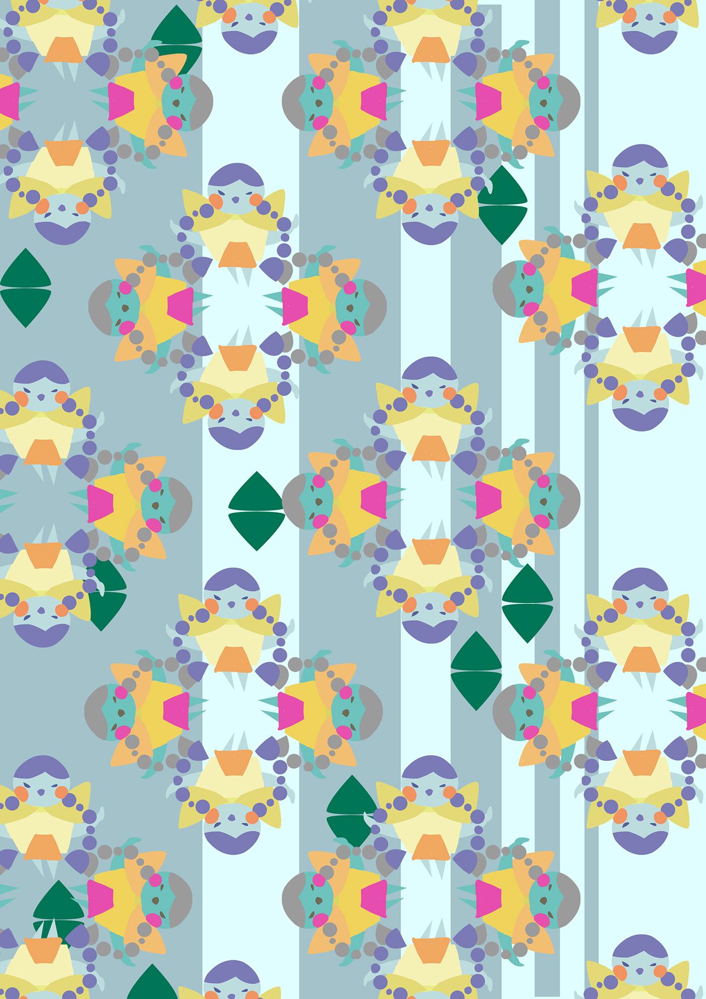 pattern AdobeIllustrator