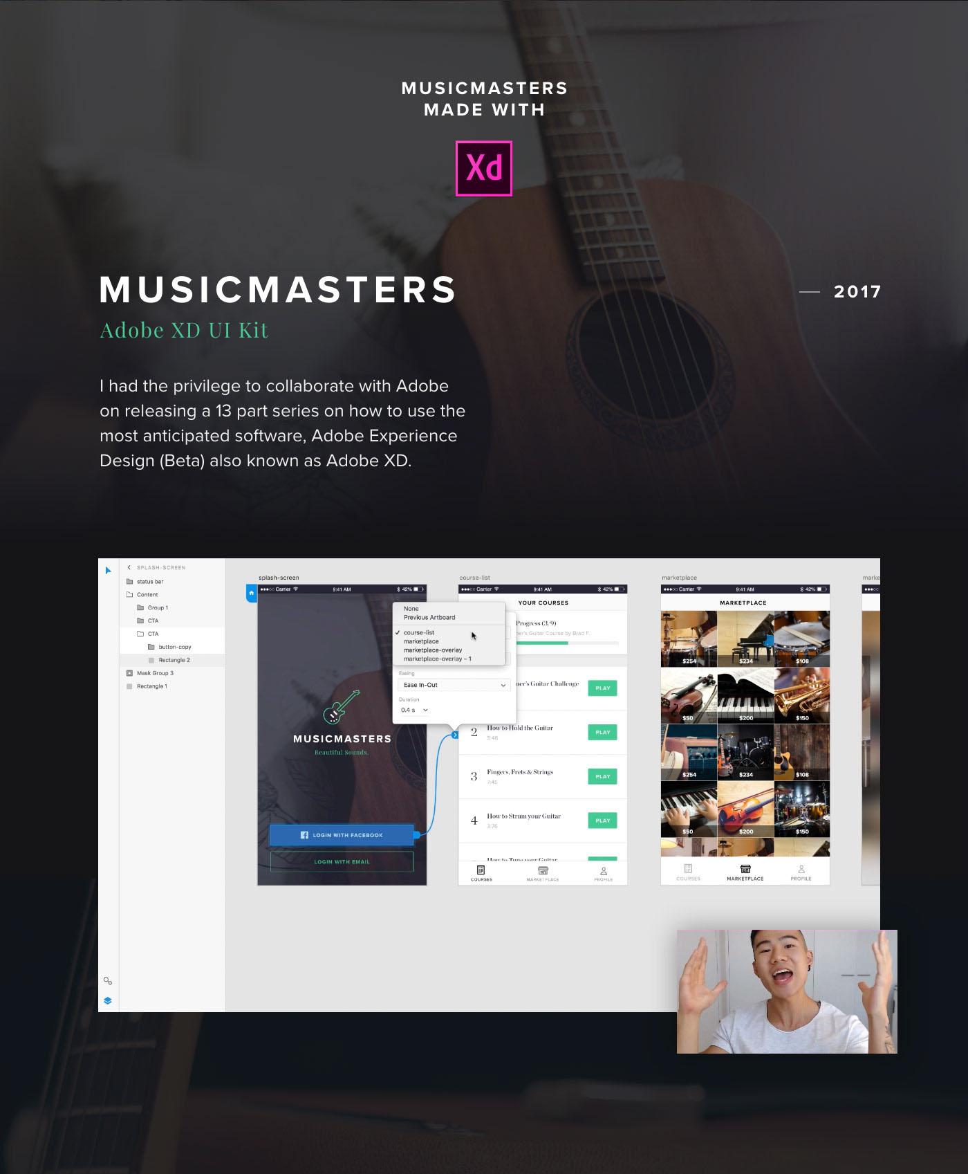 adobe user experience ui design freebie user interface design MadeWithAdobeXd app design iOS design prototype