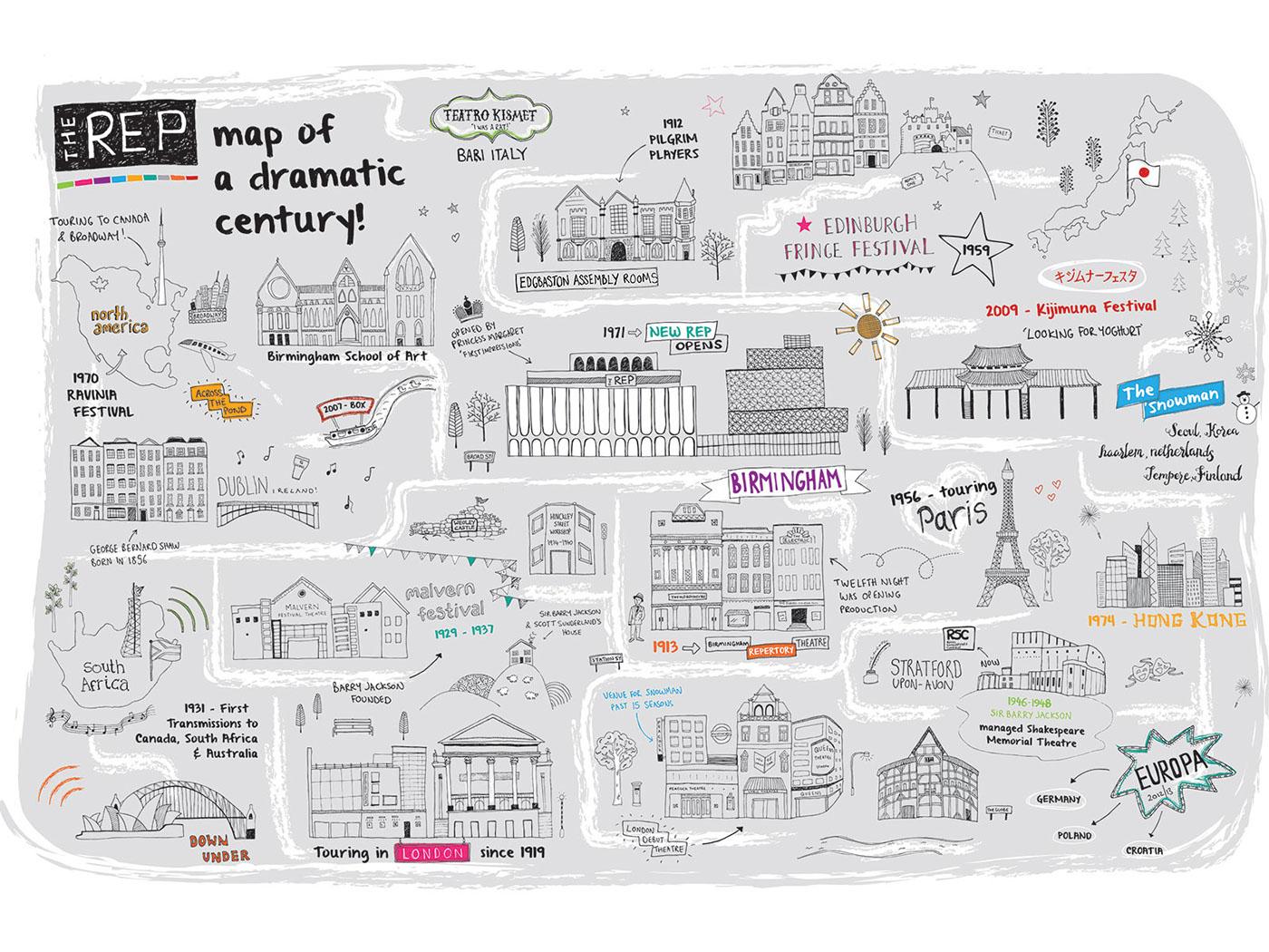 優質的19個手繪地圖欣賞