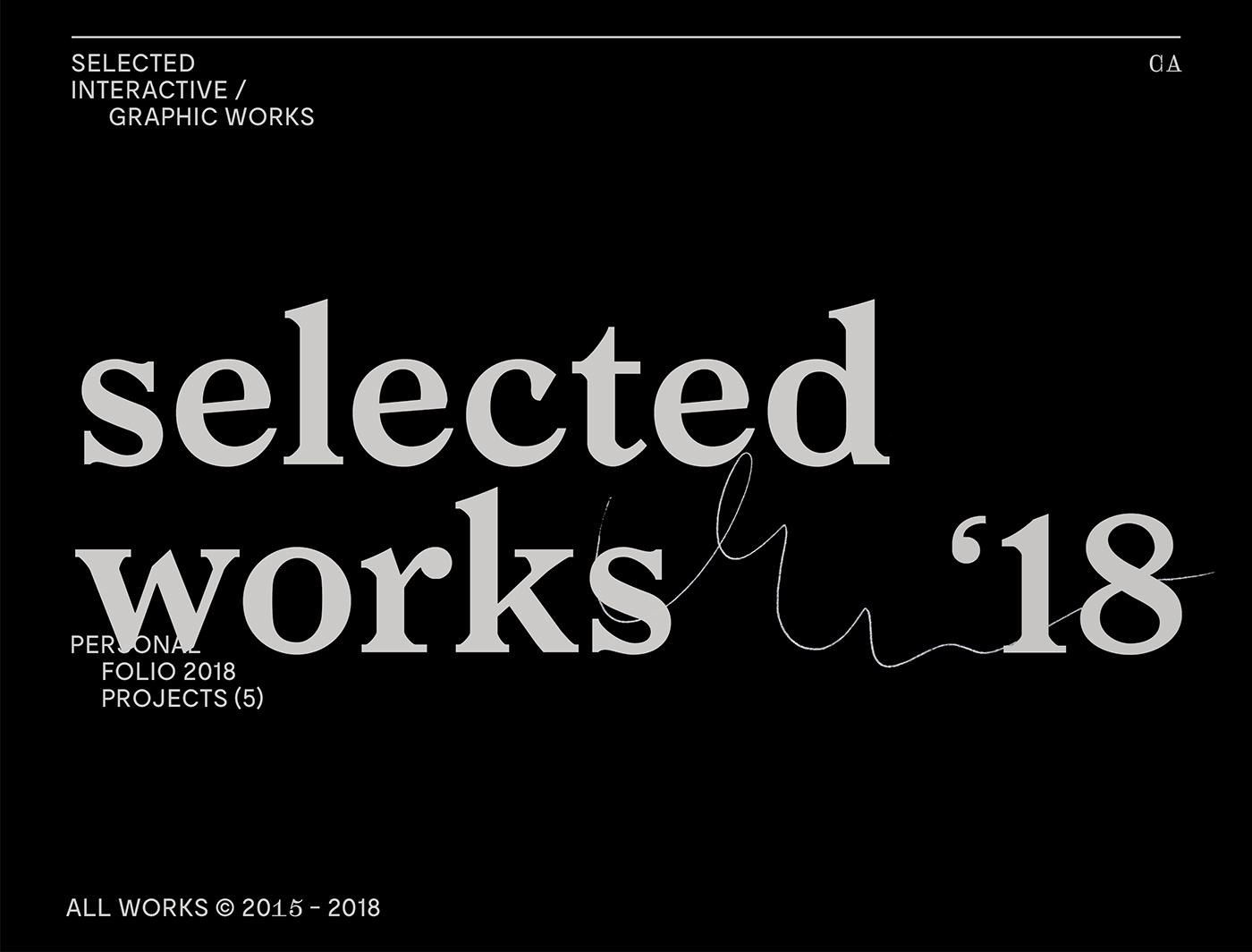 豐富的33張作品集範例欣賞