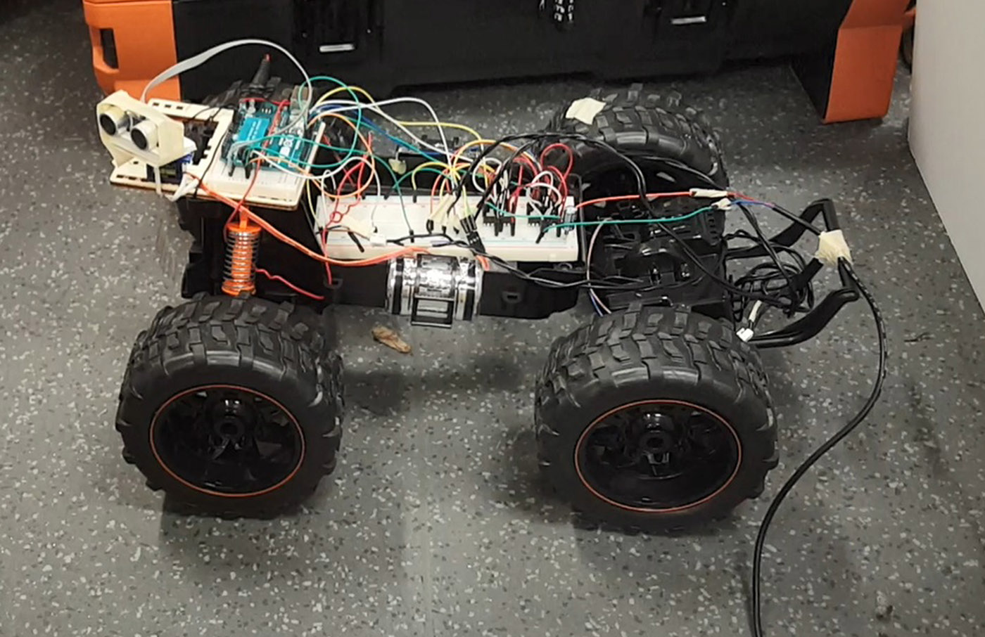 Arduino based autonomous control of rc car on behance