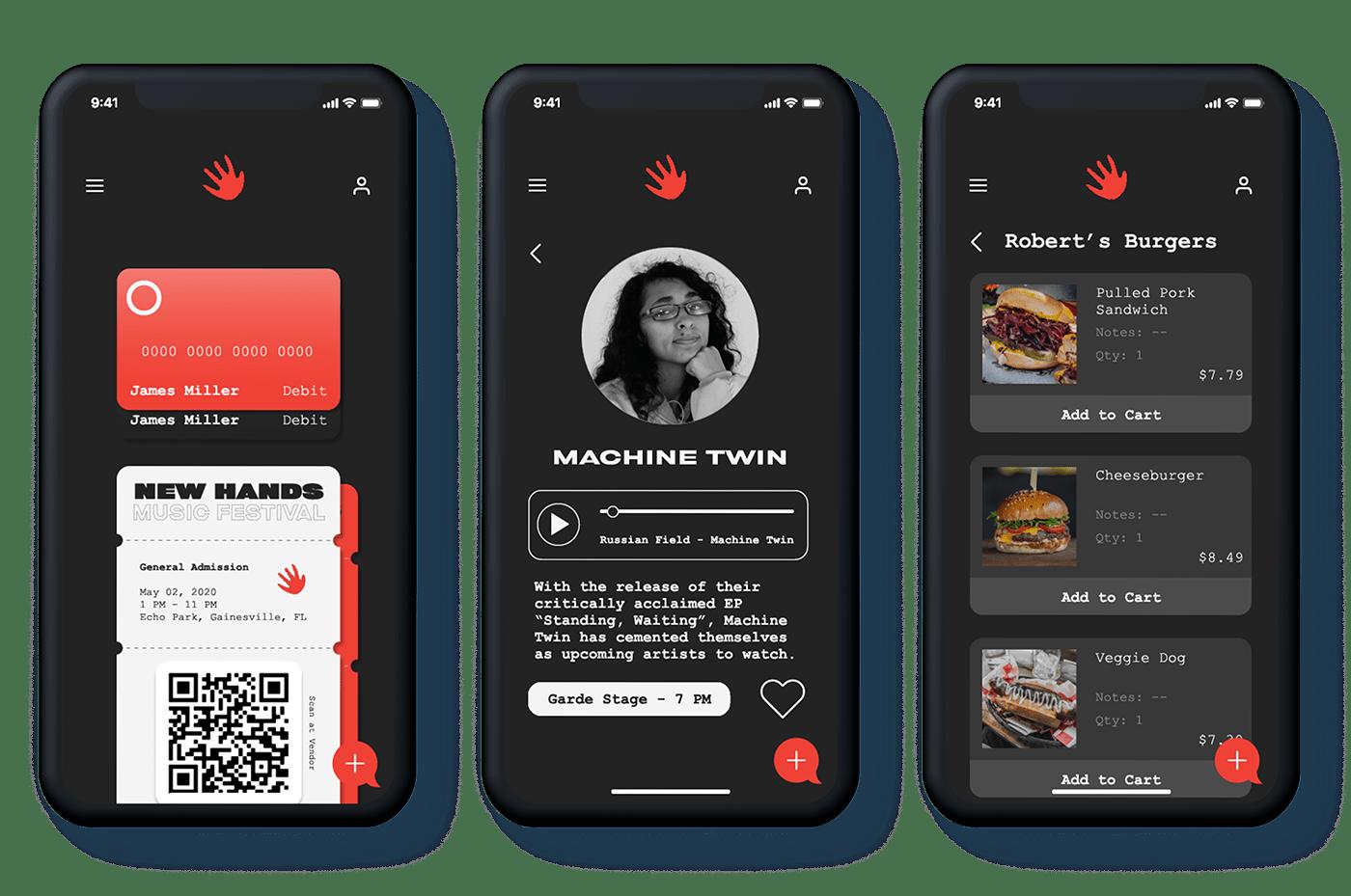 app design,art direction ,Interaction design ,Music Festival,Photography ,print,UI/UX,Web Design