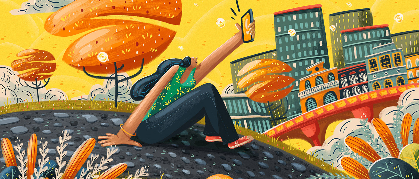 Advertising ,Character,colorful,fairy tale,Food ,ILLUSTRATION ,inspiration,kidlit,painting  ,women