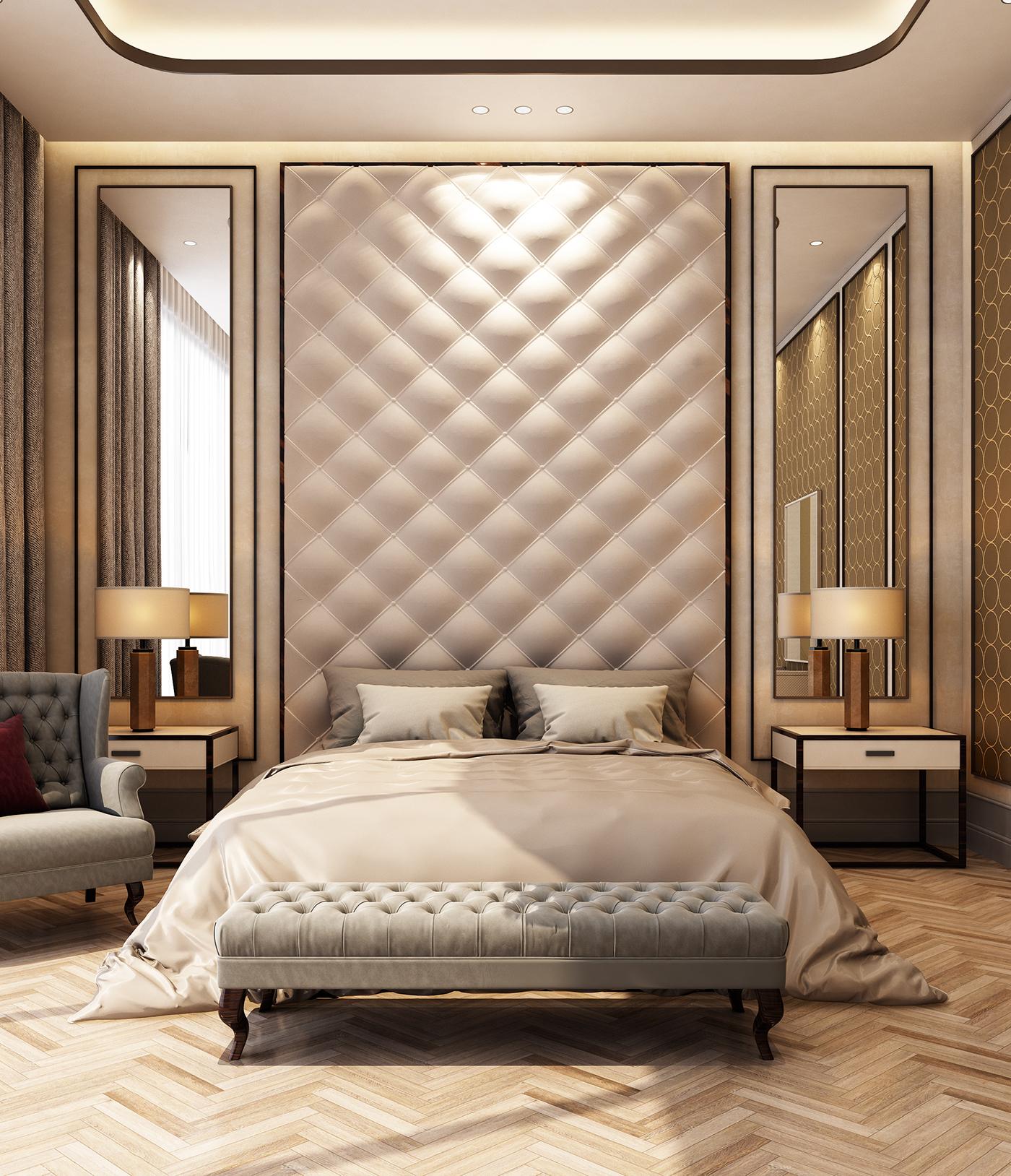 Luxury Master Bedroom Dubai On Behance: LUXURY ROOM On Behance