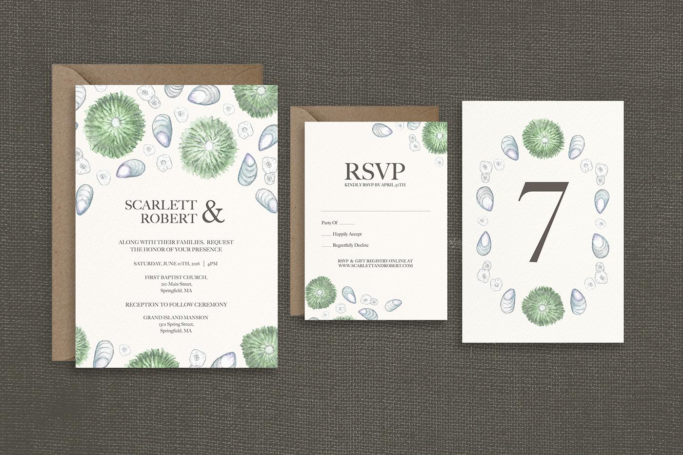 Wedding Invitations | Etsy on Behance