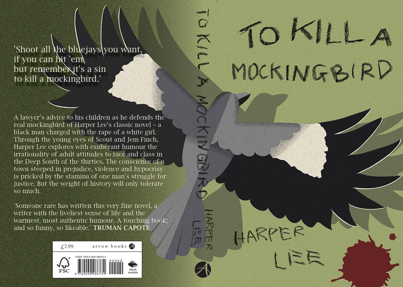 to kill a mockingbird cover page