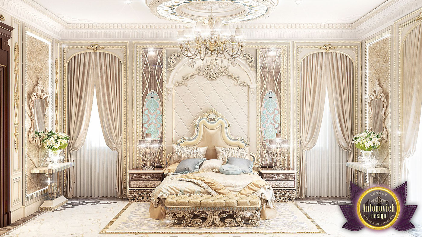 32 Stunning Luxury Master Bedroom Designs Photo Collection: Luxury Royal Arabic Master Bedroom Of Luxury Antonovich On