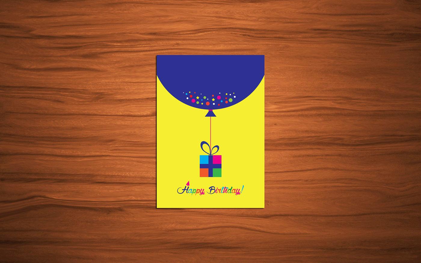 精緻的24套生日卡片設計欣賞