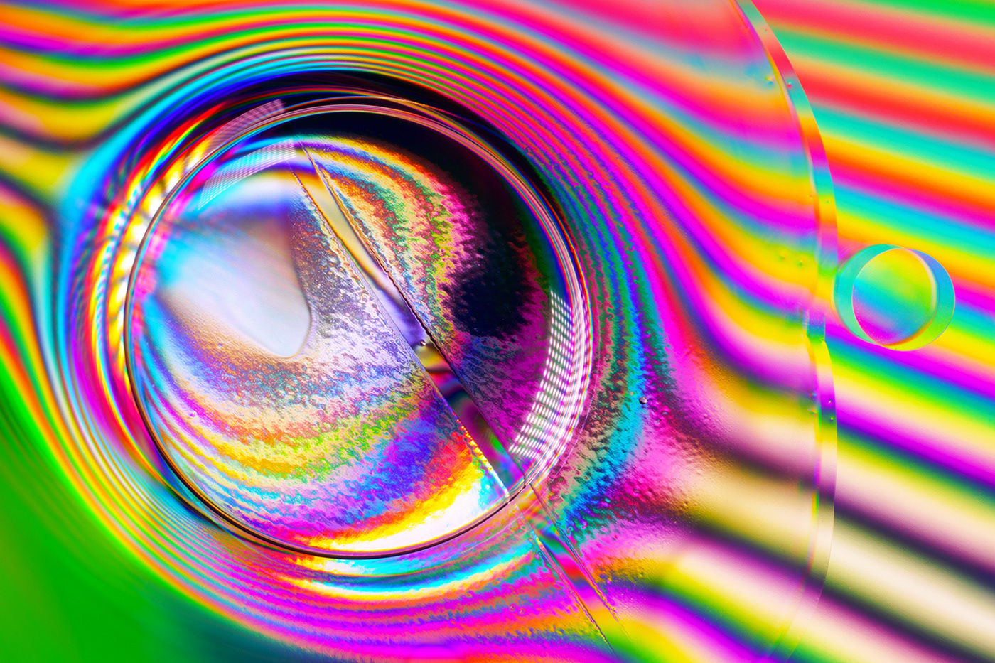 4K art colors holographic iridescent music rainbow sonyA7RIV video videoart