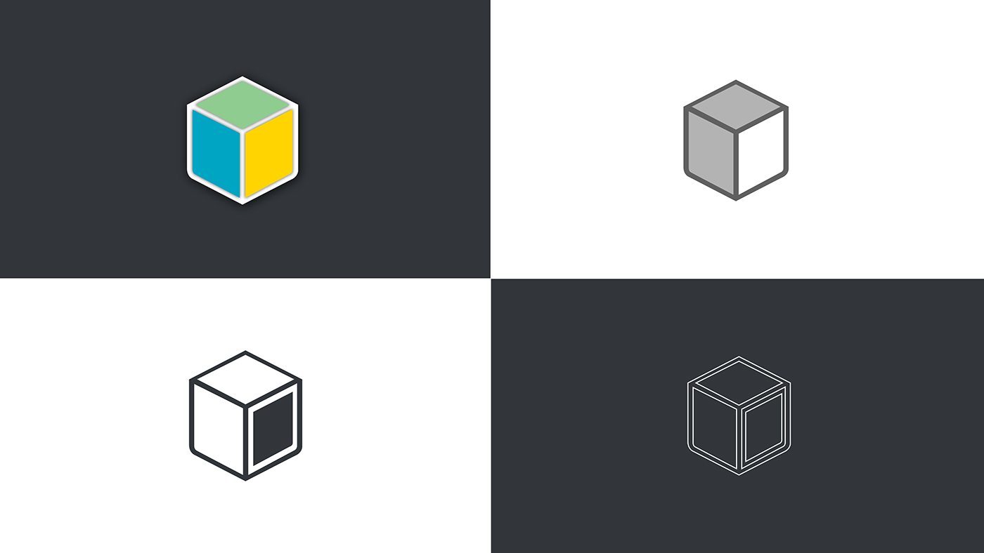 Isometric Logo Glitch By Obispost: Isometric Logo Study On Behance