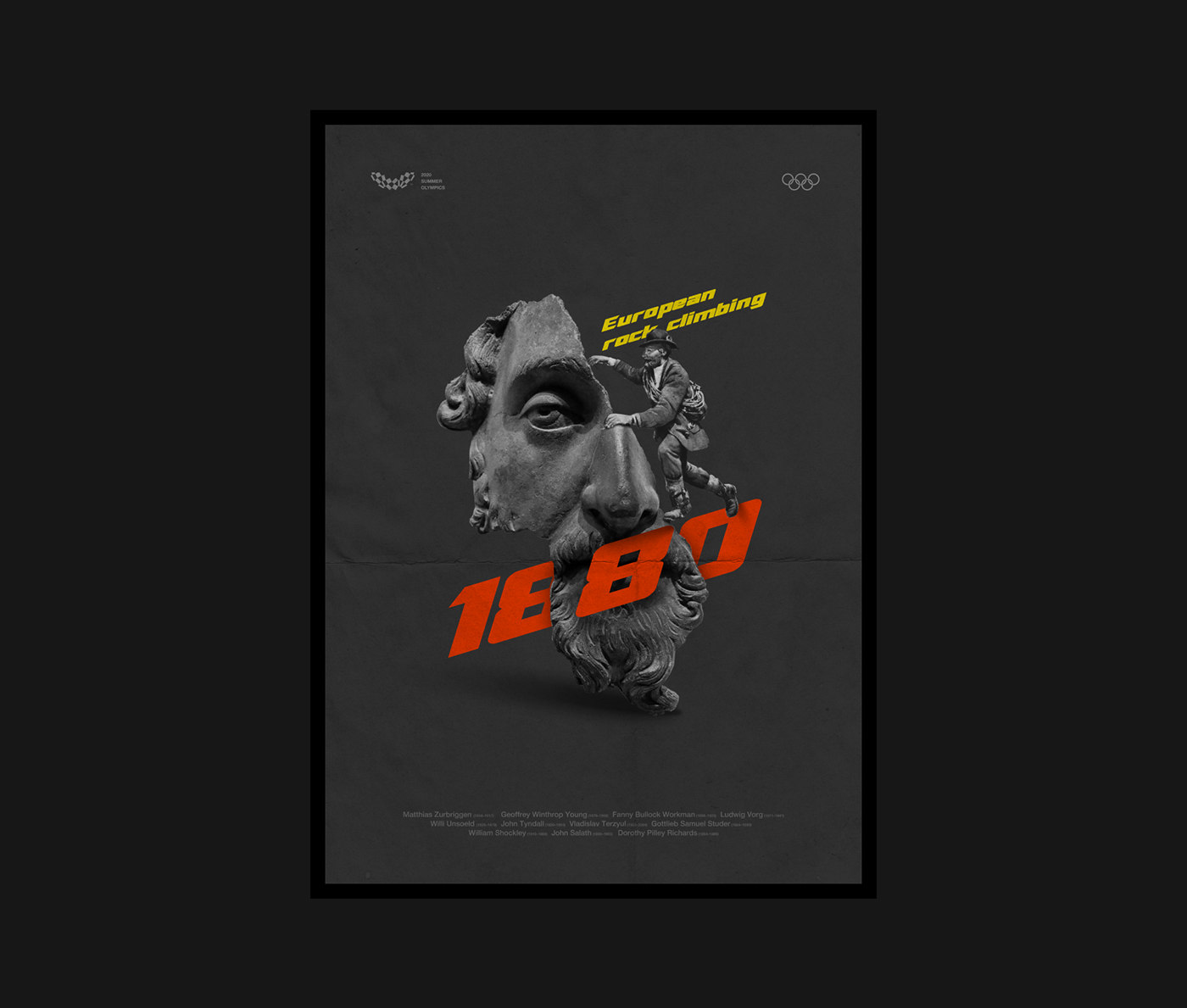 Collection graphic design  Layout posters print typohraphy