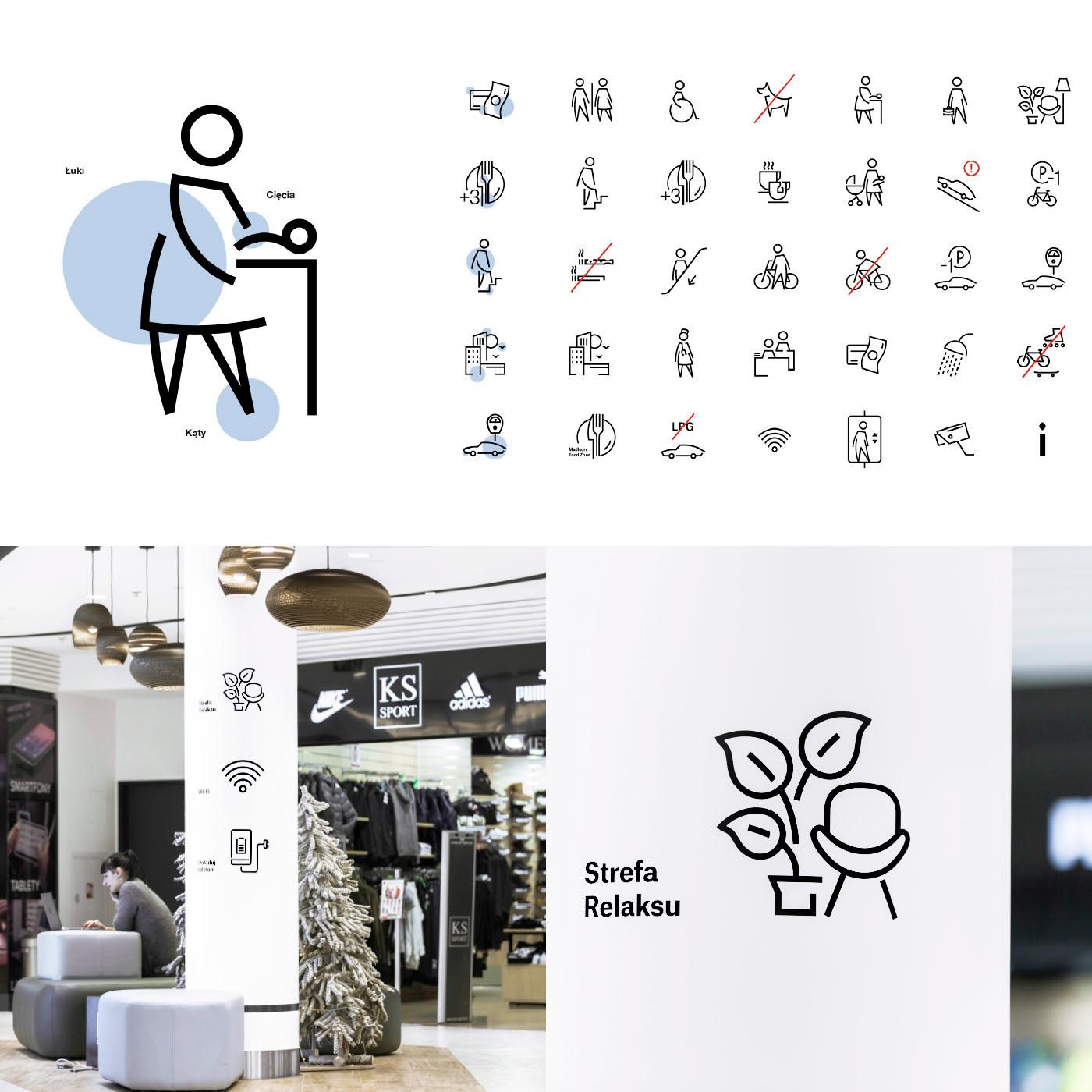 Madison UVMW wayfinding pictogram Gdansk Danzig warsaw identity siw