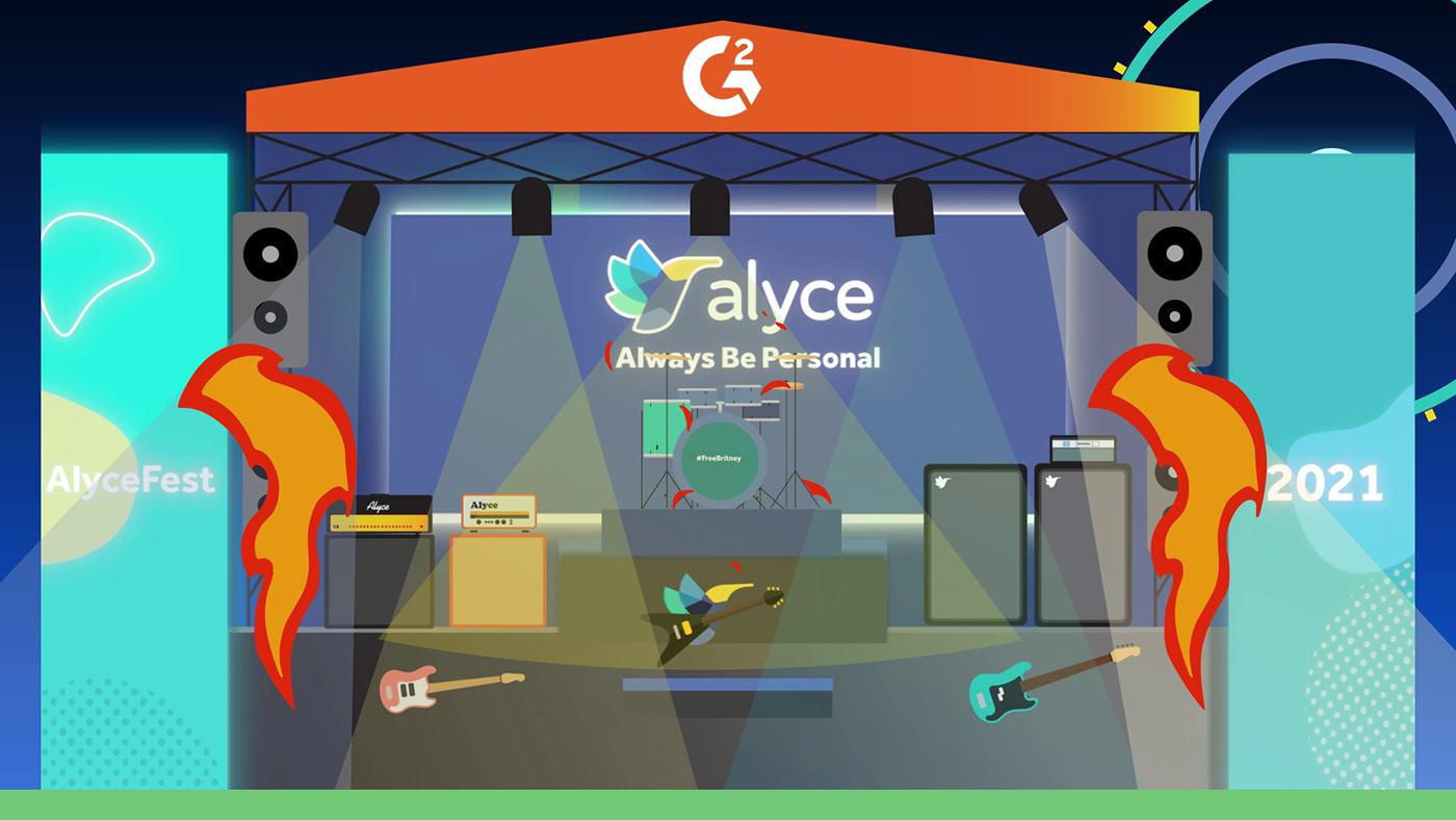 Account base marketing Alyce B2B Software g2 crowd