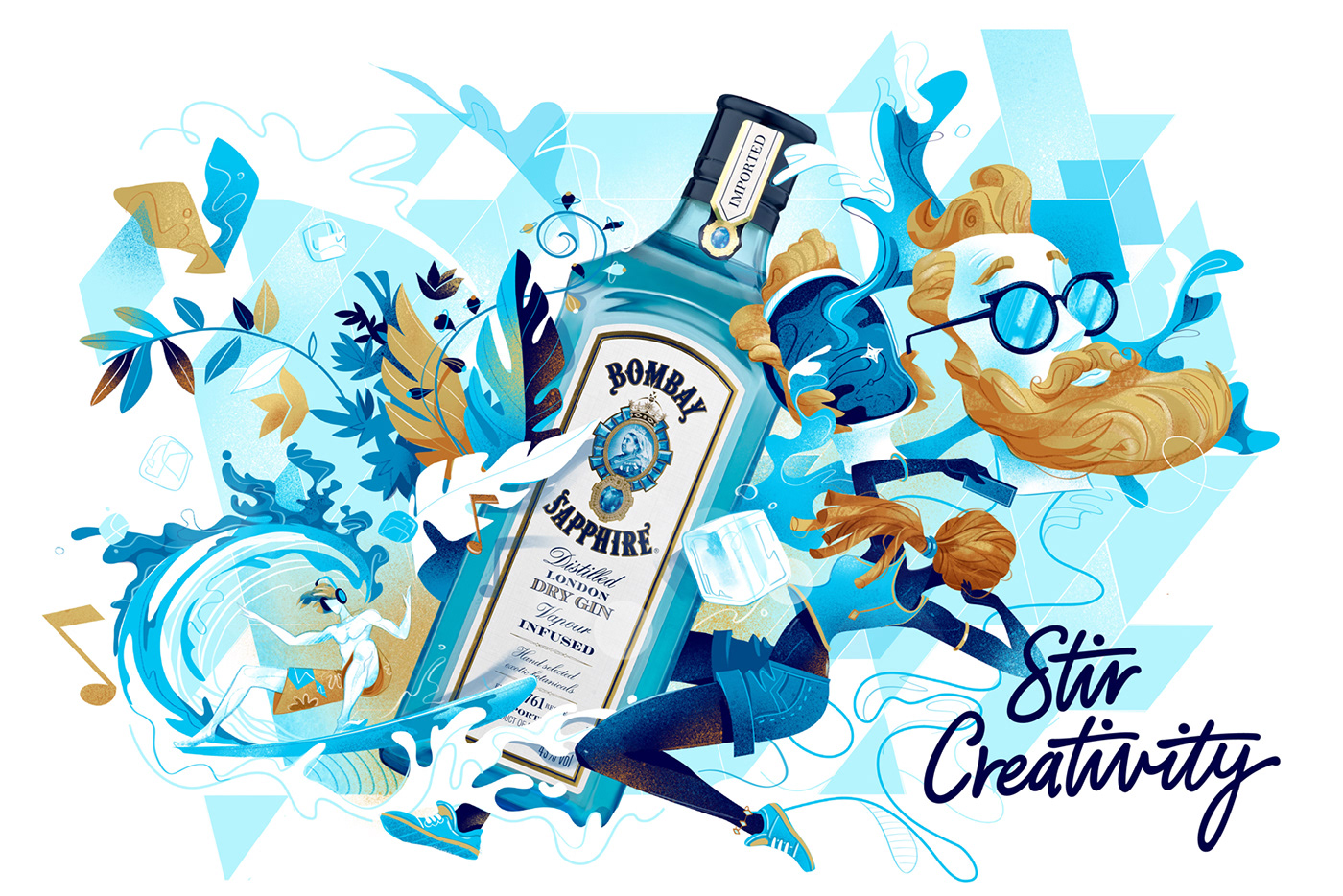 brand Creativity ILLUSTRATION  Viral cool fresh Drawing  wow lifestyle Hipster