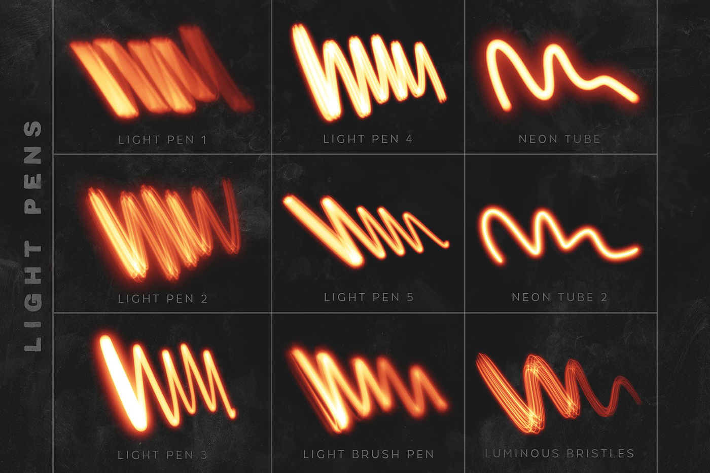 Lights Procreate Brushes by MiksKS on Behance