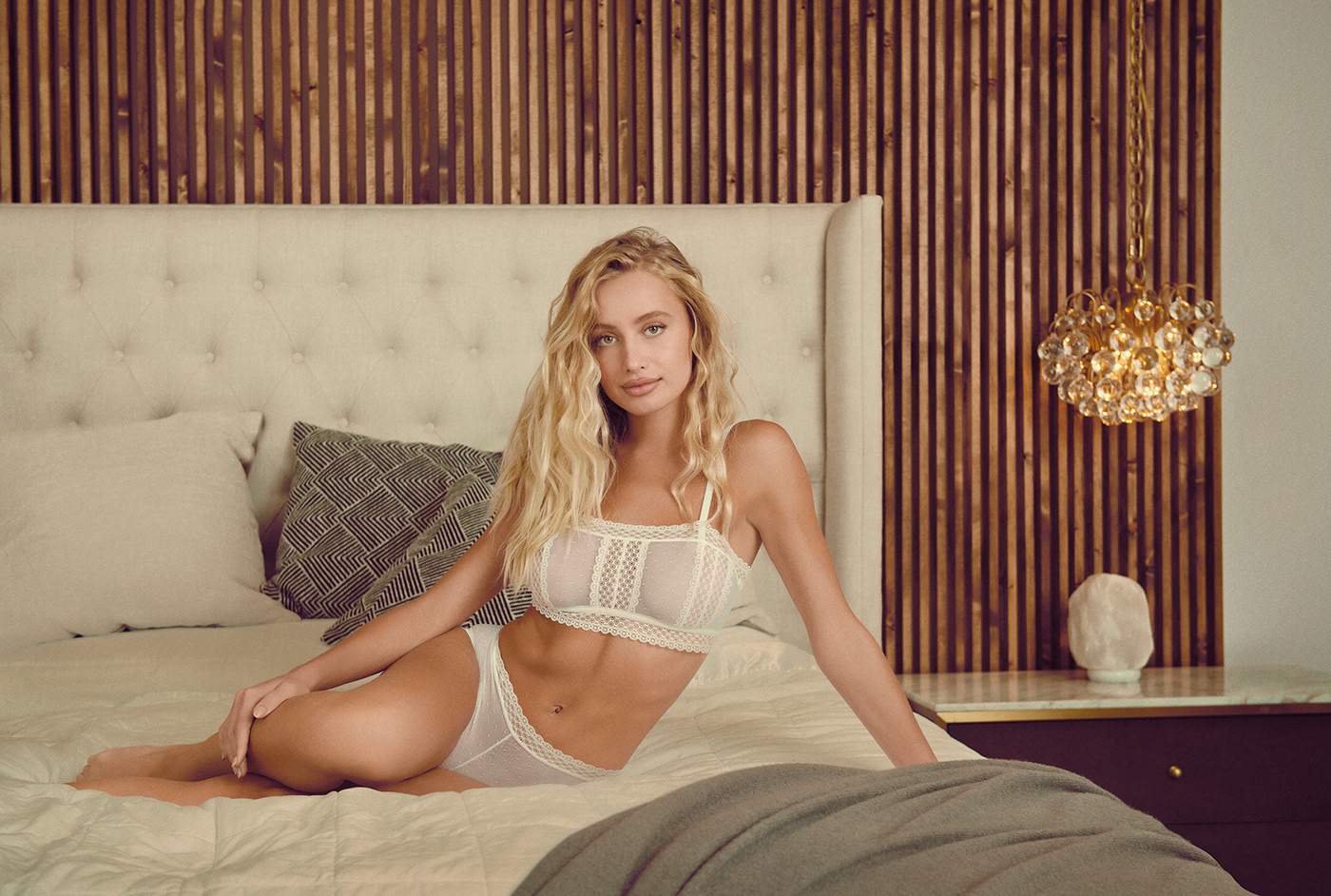 apparel beauty clothes Clothing Fashion  merchandise model retouch underwear woman