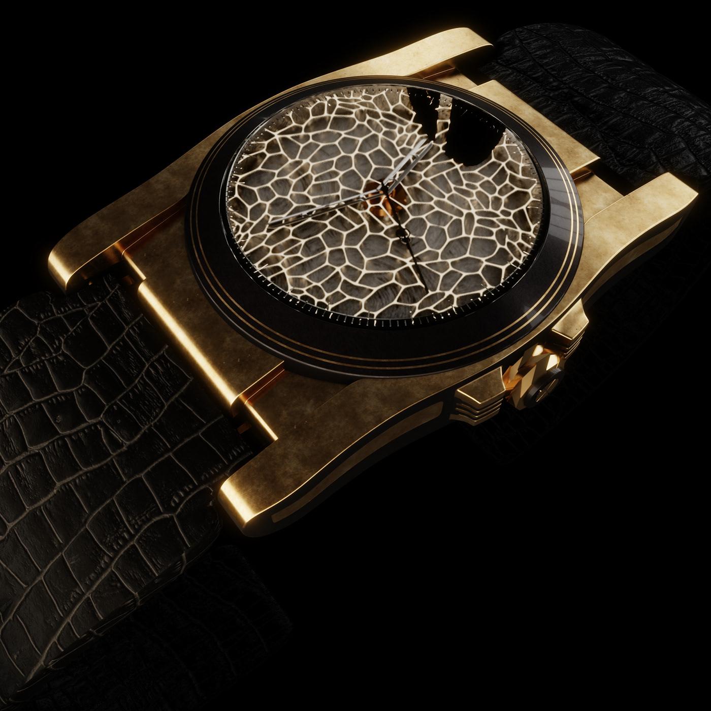 Art Deco watches design concept
