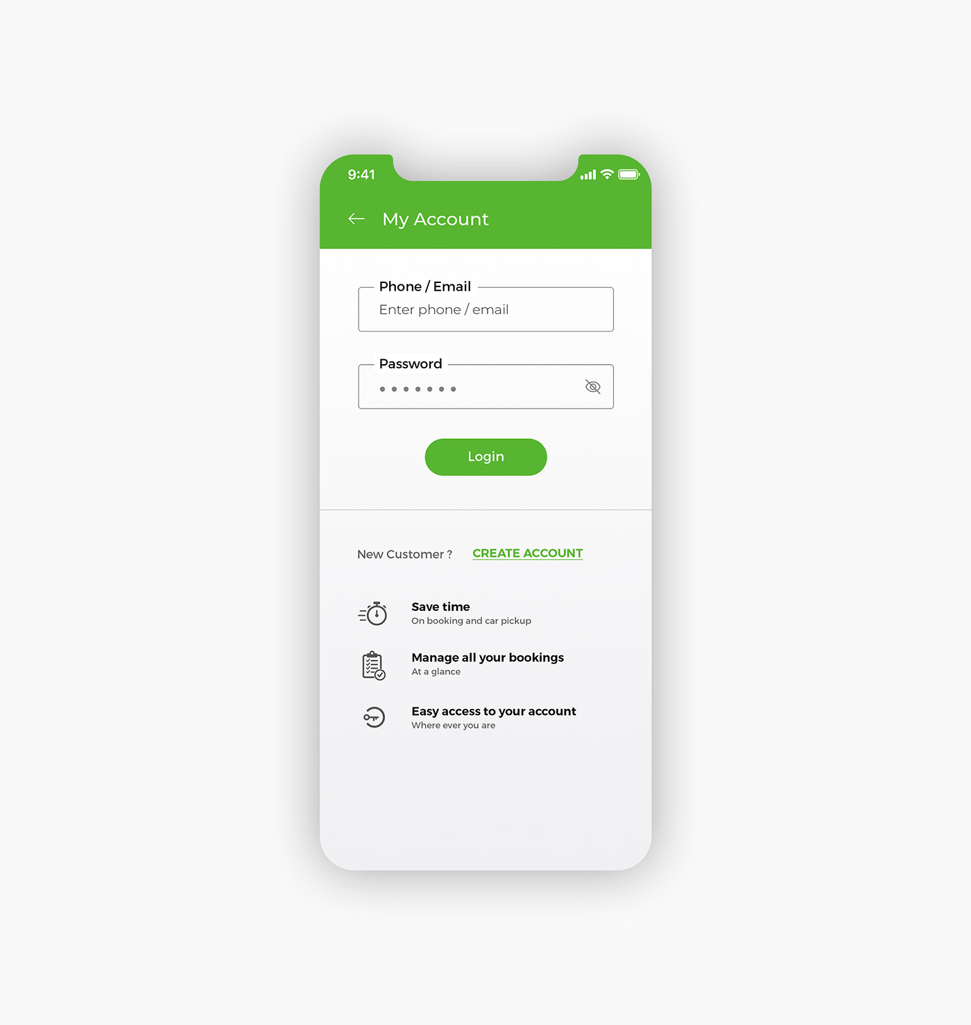 Car Rental Mobile App Rent a Car Mobile App