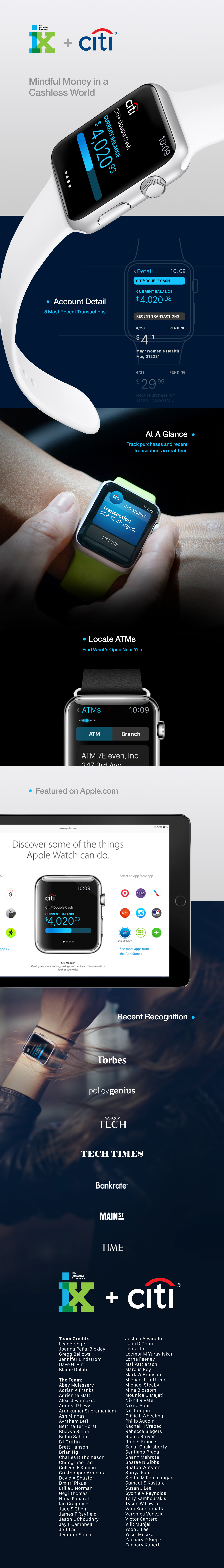 apple watch wearables wearable tech iwatch mobile IoT IBMiX mobile banking finance Financial Services IBM Interactive Experience Canne Lions