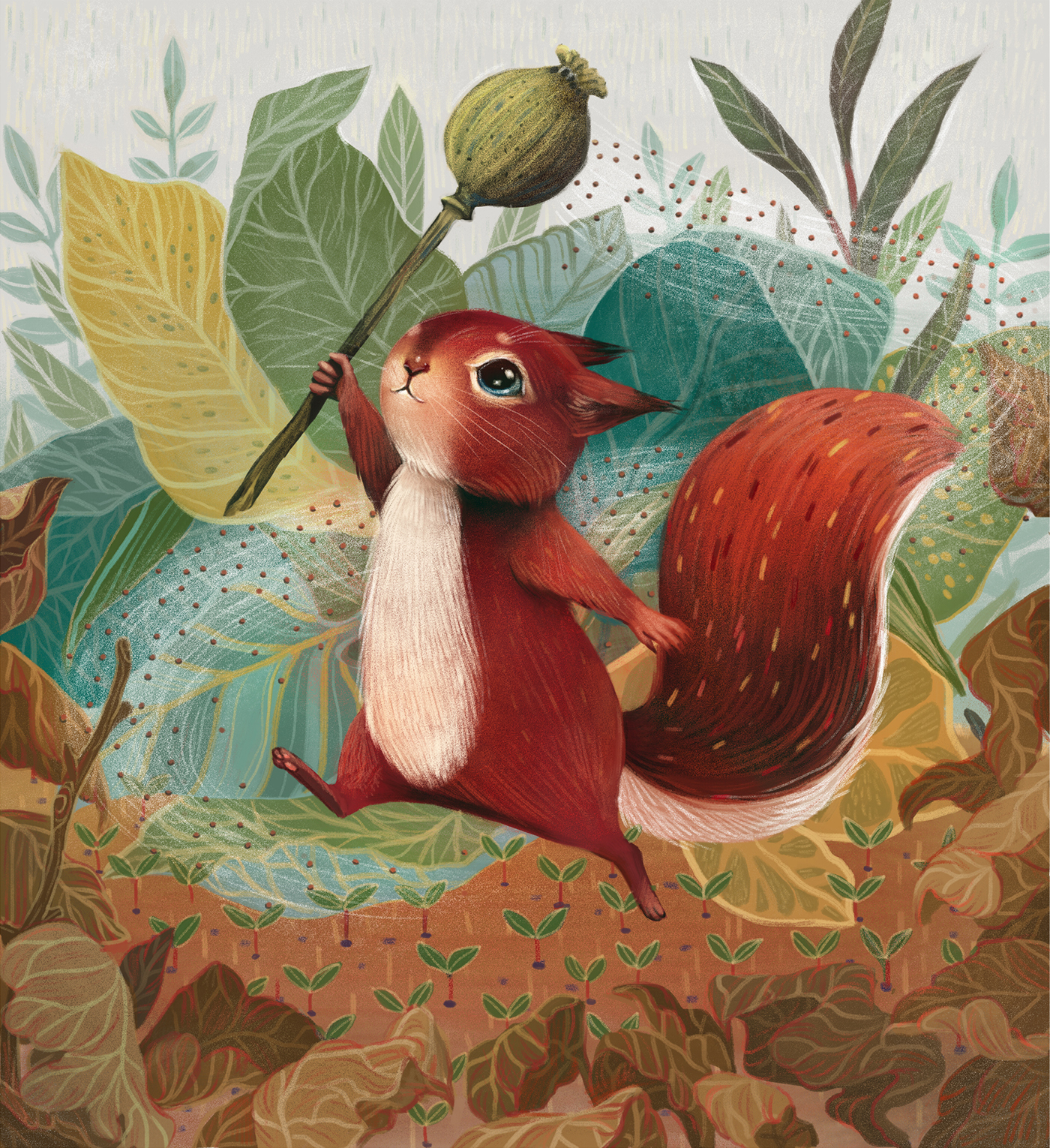 Perrin and the Peculiar Poppy Pod on Behance